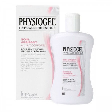 Illustration Physiogel A.I. Corps Crème Fluide Anti-Irritante - 200ml