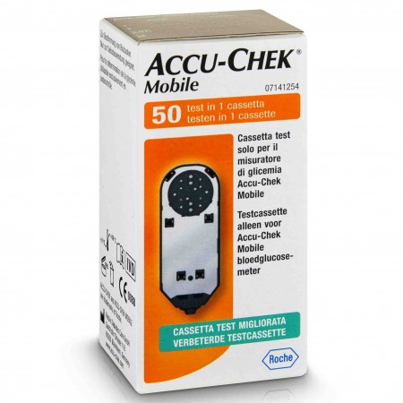 Accu-Chek - Accu-check mobile, 2 cassettes de 50 tests