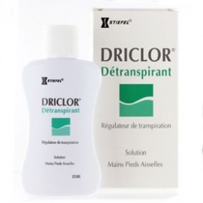 Illustration Driclor Détranspirant - 60ml