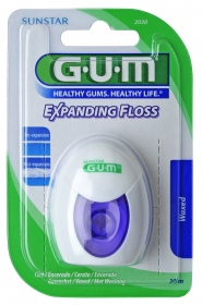 GUM - Expanding Floss Fil dentaire - 30 m