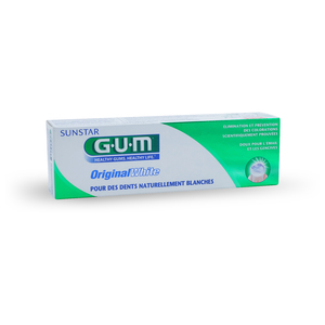 GUM - Original White dentifrice - 75 ml