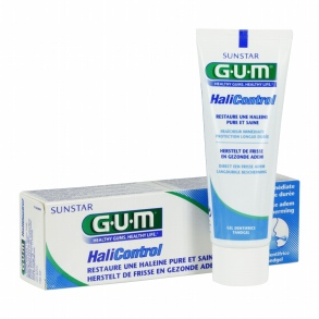 GUM - HaliControl Gel dentifrice - 75 ml