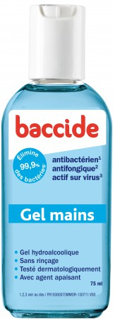 Cooper - Baccide Gel Mains Mini - 75ml