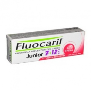 Fluocaril - Dentifrice Enfant Junior 7-12 ans Fruits rouges - 50 ml