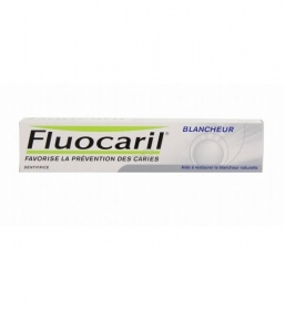Illustration Fluocaril Dentifrice Blancheur Menthe - Tube 125ml