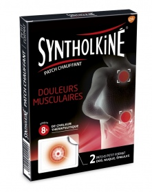 Synthol - Syntholkiné Patchs Chauffants Zones ciblées - 2 patchs