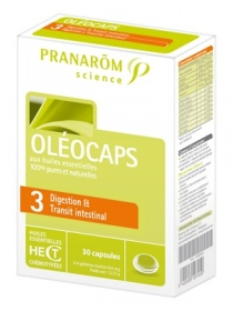 "Illustration Oléocaps N°3 ""Digestion & Transit intestinal"" - 30 capsules"