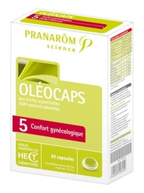 "Illustration Oléocaps N°5 ""Confort gynécologique"" - 30 capsules"