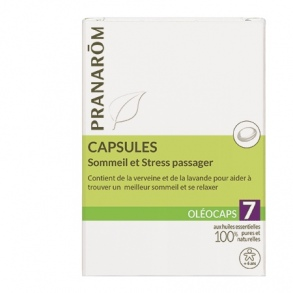 "Illustration Oléocaps N°7 ""Sommeil & Stress passager"" - 30 capsules"