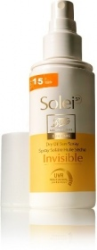 Illustration SoleiSP - Spray solaire huile sèche invisible SPF 15 - 125ml