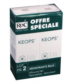 Illustration Kéops Déodorant à Bille - 2x30ml