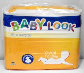 Baby Look - Changes Eveil 4-10 kg - 20 Changes