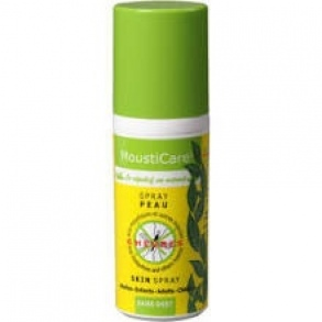 "Illustration MoustiCare ""Spray peau  Anti-Moustiques"" - 50 ml"