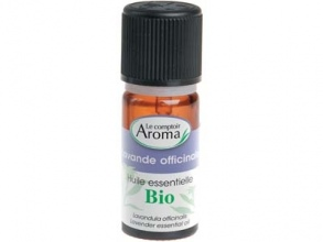 Illustration Lavande officinale - Huile essentielle Bio - 10ml