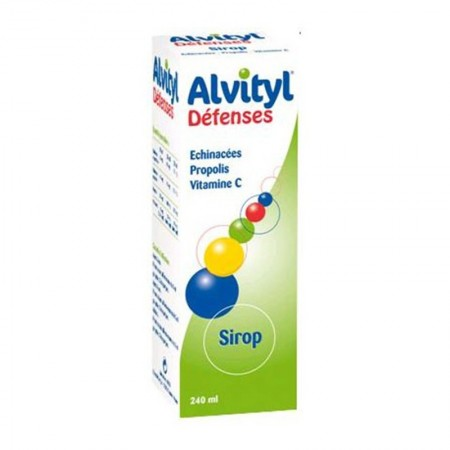 Illustration Alvityl Défenses Naturelles - Sirop 240ml