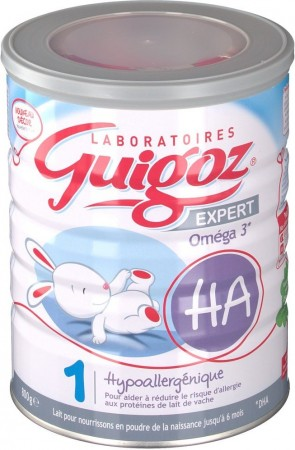 Illustration Lait Expert HA1  de 0 à 6 mois - 800g
