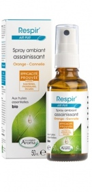 Le Comptoir Aroma - Spray Respir' Air pur Orange - Cannelle - 50ml