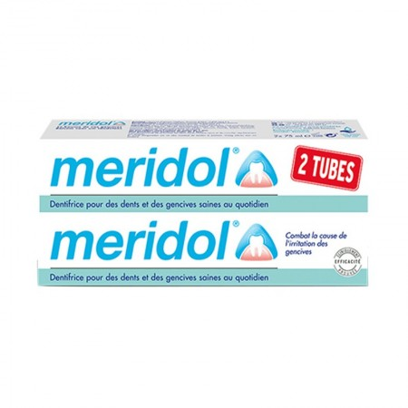 Méridol - Dentifrice Méridol Protection Gencives - 2 X 75ml