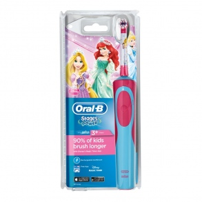 Oral-b - Stages Power Brosse à dents électrique rechargeable enfants - Princesses