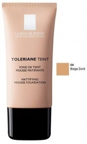 Illustration Tolériane Teint - Fond de Teint Mousse Matifiante 04 Beige Doré - 30 ml
