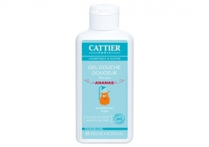 Cattier - Gel douche douceur Kids bio - Ananas - 200ml