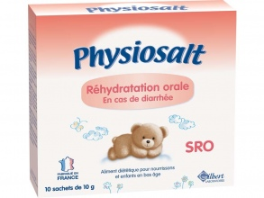 Physiolac - Physiosalt SRO sels de réhydratation orale
