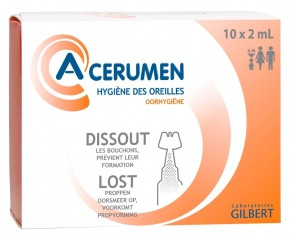 A-Cérumen - Solution en unidoses 10 X 2 ML