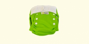 Babywiz  - Couche lavable Wiz In One Verte
