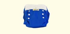 Babywiz  - Couche lavable Wiz In One Bleue