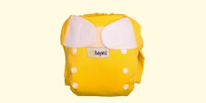 Babywiz  - Couche lavable Wiz In One Jaune