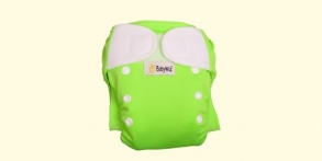 Babywiz  - Couche lavable Wiz In One Vert Pomme