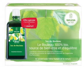 Illustration Jus de bouleau bio - lot de 2 x 200 ml + 1 offerte (200 ml)