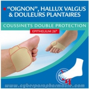 Epitact - Coussinets double protection à l'Epithelium 26 P36/38 - 1 paire