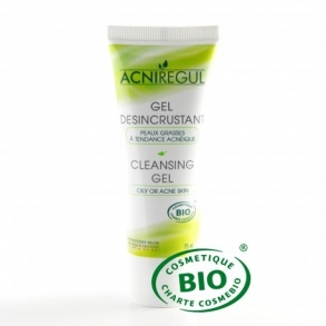 Arlor Natural Scientific - Acniregul Gel désincrustant bio pour peaux à imperfections