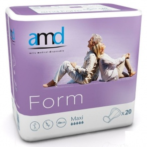 Illustration AMD FORM PROT ANATOMIQUE COTTON FEEL MAXI 20 2800ml