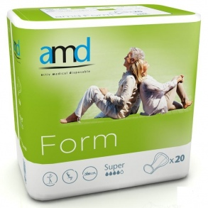 Illustration AMD FORM PROT ANATOMIQUE COTTON FEEL SUPER 20 absorption 2300ml