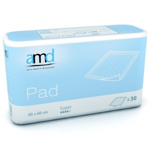 AMD - AMD PAD ALESE SUPER 60CM X 60CM 30 * 4 absorption 1150ml