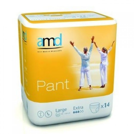 Illustration AMD PANT SOUS VETEMENT ABSORBANT LARGE EXTRA 14 absorption 1500ml