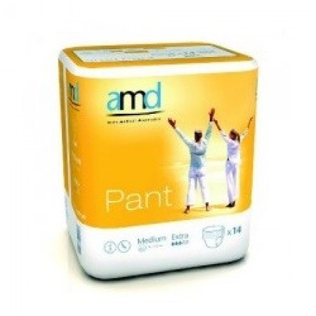 Illustration AMD PANT SOUS VETEMENT ABSORBANT MEDIUM EXTRA 14 absorption 1400ml