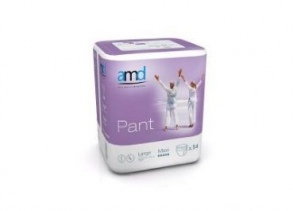 Illustration AMD PANT SOUS VETEMENT MAXI LARGE 14 absorption 2300ml