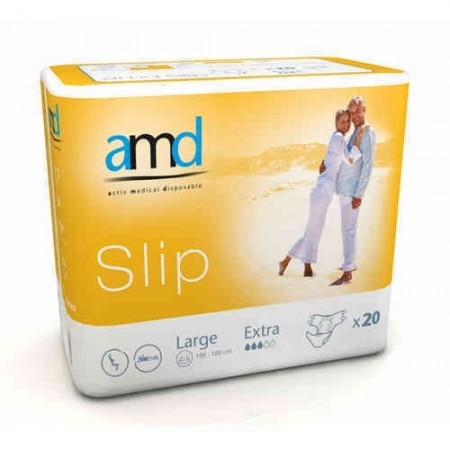Illustration AMD SLIP CHANGE COMPLET LARGE EXTRA 20 absorption 2500 ml