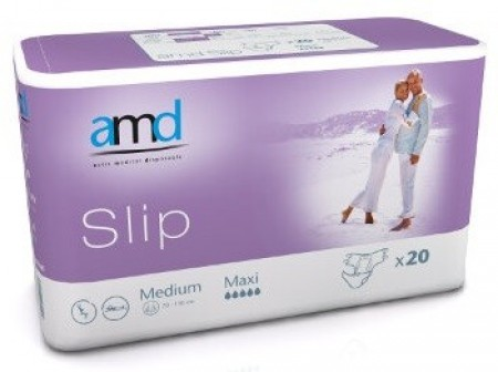 AMD - AMD SLIP CHANGE COMPLET MEDIUM MAXI 20 absorption 3200ml