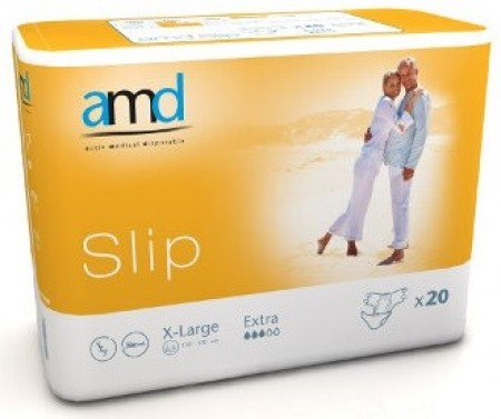 AMD - AMD SLIP CHANGE COMPLET XLARGE EXTRA 20 absorption 3200ml