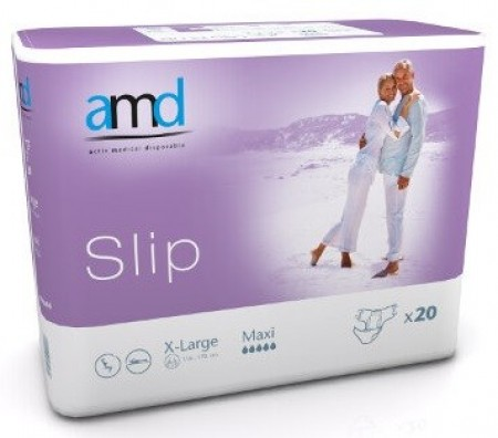 Illustration AMD SLIP CHANGE COMPLET XLARGE MAXI 20 absorption 4100ml