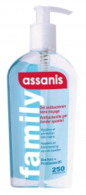 Assanis - Family gel mains 250ml