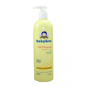 Illustration BABYLENA BIO GEL MOUSSANT CHEVEUX CORPS 500ML