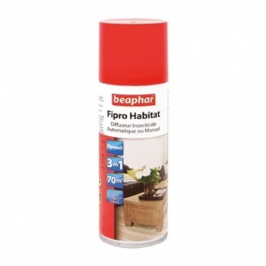 Illustration SPRAY INSECTICIDE POUR HABITATION AU PYRÈTHRE 400 ML