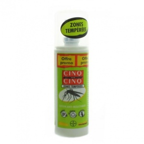 Illustration CINQ SUR CINQ ZONES TEMPEREES LOTION SPRAY 100ML