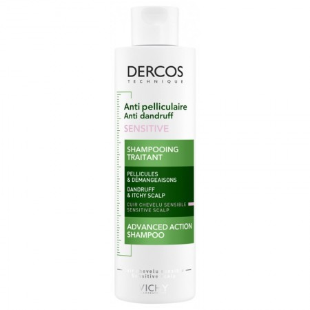 Illustration Dercos Shampooing anti-pelliculaire cuir chevelu sensible - 200 ml
