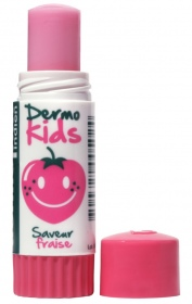 Illustration DERMOKIDS STICK LEVRE FRAISE 3G5